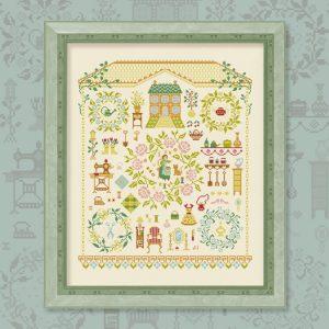 Набор для вышивания OwlForest «Милый дом»