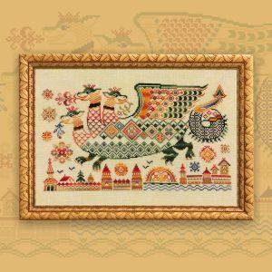 Набор для вышивания OwlForest «Конь-огонь»
