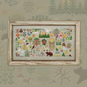 Набор для вышивания OwlForest «Заповедный Лес»