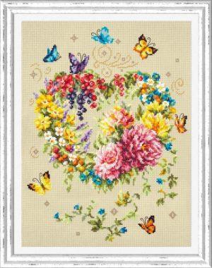 Набор для вышивания Чудесная игла «Нежность сердца»