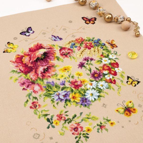 Набор для вышивания Чудесная игла «Сияние сердца»