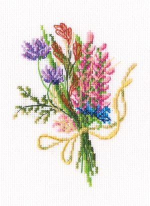 Набор для вышивки крестом RTO «Лесные бутоньерки»