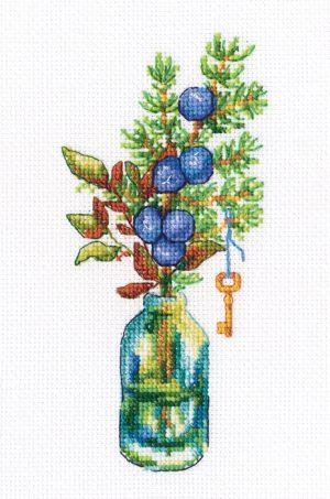 Набор для вышивки крестом RTO «Лесные бутоньерки 2»