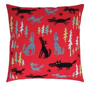 Набор для вышивки крестом RTO «Волки и ёлки 4»