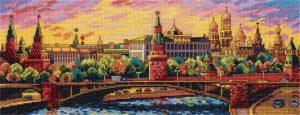 Набор для вышивки крестом PANNA «Вечерняя Москва»