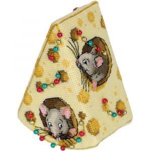 Набор для вышивания PANNA «Сыр для мышек»
