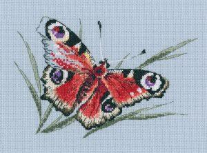 Набор для вышивки крестом RTO «Подлетая к цветку»