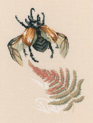 Набор для вышивки крестом RTO «Полет жука»