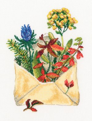 Набор для вышивки крестом RTO «Письмо из леса»