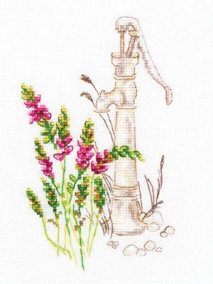 Набор для вышивки крестом RTO «Цветущие травы»