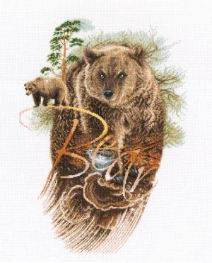 Набор для вышивки крестом RTO «Хозяин леса»