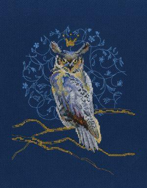Набор для вышивки крестом RTO «Королевский филин»