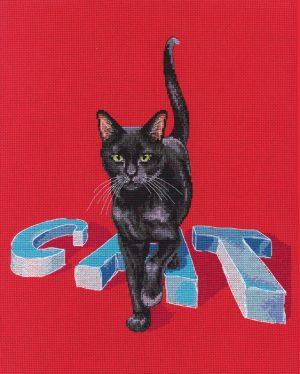 Набор для вышивки крестом RTO «Кот»