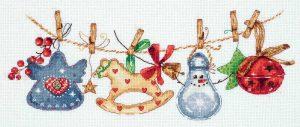 Набор для вышивания PANNA «Праздничная гирлянда»