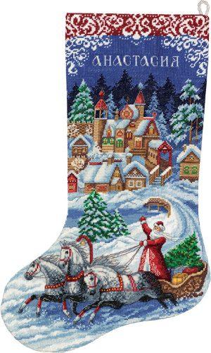 Набор для вышивания PANNA «Сказочный сапожок»