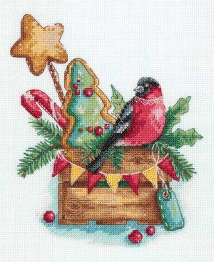 Набор для вышивания PANNA «Гостинцы от снегиря»