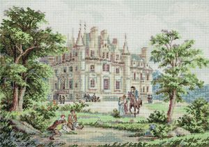 Набор для вышивки крестом PANNA «Дворцовый сад»