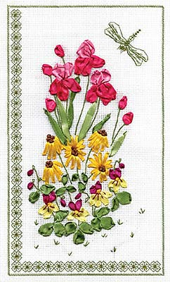 Набор для вышивания Panna «Панно со стрекозой»