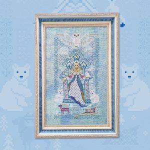 Набор для вышивания OwlForest «Снежная королева»