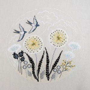 Набор для вышивания Марья Искусница «Две ласточки»