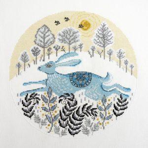Набор для вышивания Марья Искусница «Бегущий заяц»
