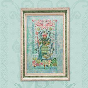 Набор для вышивания OwlForest «Морской царь»