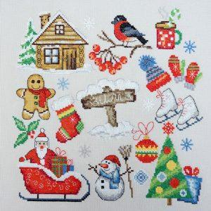 Набор для вышивания Марья Искусница «Зима»