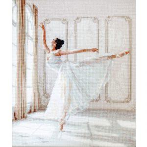 Набор для вышивки крестом Letistitch «Ballerina» Балерина