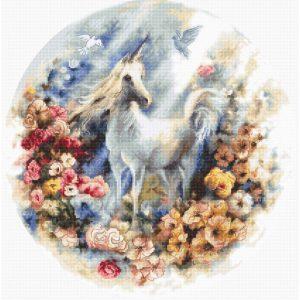 Набор для вышивки крестом Letistitch «Unicorn» Единорог