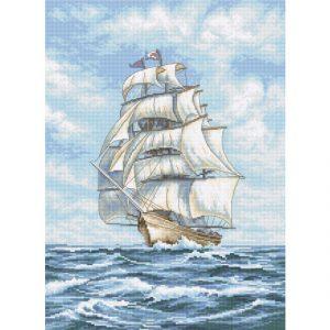 Набор для вышивки крестом Letistitch «Ship» Корабль