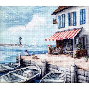 Набор для вышивки крестом Letistitch «Sea Port» Морской порт