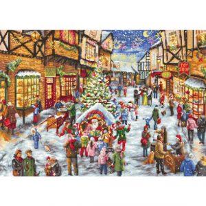 Набор для вышивки крестом Letistitch «Christmas Eve» Канун Рождества
