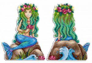 Набор для вышивания Жар-Птица «Краса морей»