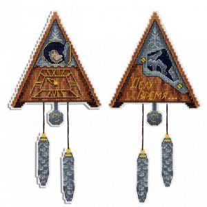 Набор для вышивания Жар-Птица «Делу время»