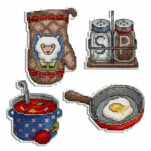 Набор для вышивания Жар-Птица «Приятного аппетита»