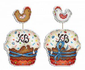 Набор для вышивания Жар-Птица «Пасхальный кулич»