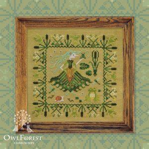 Набор для вышивания OwlForest «Кикимора болотная»