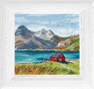 Набор для вышивания Овен «Лофотенские острова»