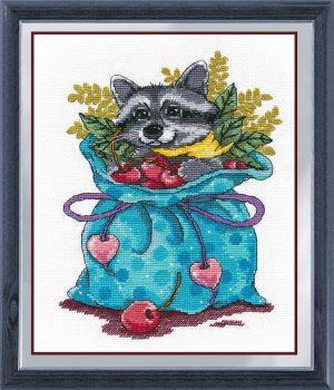Набор для вышивания Овен «Енотик-сладкоежка»