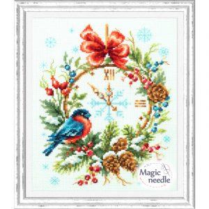 Набор для вышивания Чудесная игла «Время Рождества»