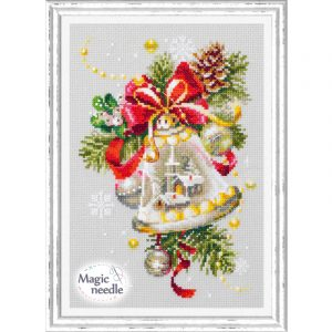 Набор для вышивания Чудесная игла «Рождественский колокольчик»