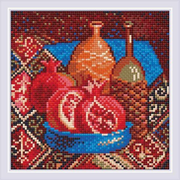 Алмазная мозаика Риолис «Гранаты» (АМ0033)