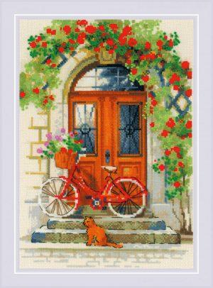 Набор для вышивания крестом Риолис «Дверь в Италию»
