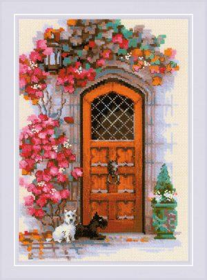 Набор для вышивания крестом Риолис «Дверь в Шотландию»