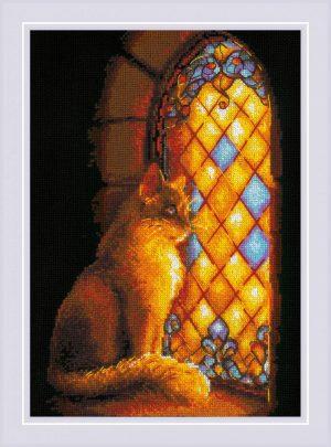 Набор для вышивания крестом Риолис «Хранительница замка»