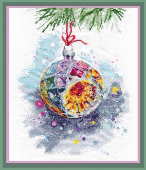Набор для вышивания Овен «Новогоднее настроение»