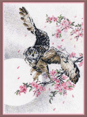 Набор для вышивания Овен «В цветах сакуры»
