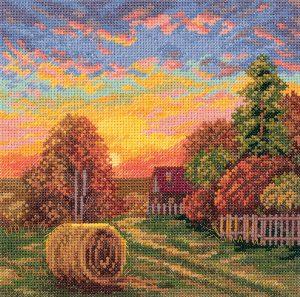 Набор для вышивания Panna «Осенние росы»