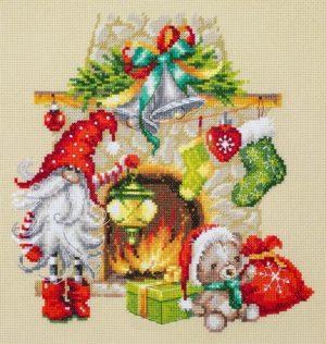Набор для вышивания Чудесная игла «В ожидании Рождества»