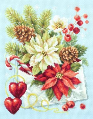 Набор для вышивания Чудесная игла «С Рождеством!»